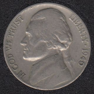 1940 - Jefferson - 5 Cents