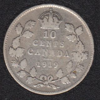 1919 - Canada 10 Cents