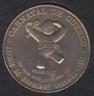 1980 Carnaval de Quebec - Dollar de Commerce