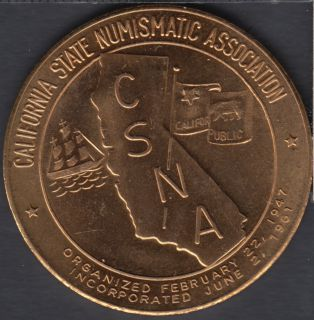 1965 - 37th Semi Annual Convention - California State Numismatic Association