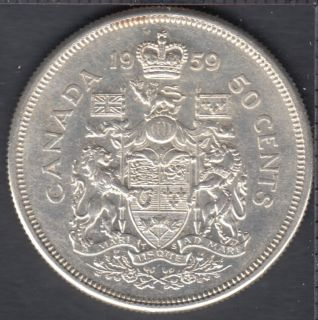 1959 - Canada 50 Cents