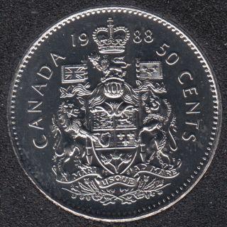 1988 - NBU - Canada 50 Cents