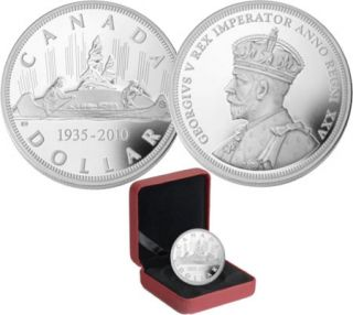 2010 Limited Edition Proof Silver Dollar 1935-2010