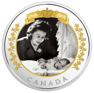 2018 - $20 - 1 oz. Pure Silver Coin - Royal Portrait