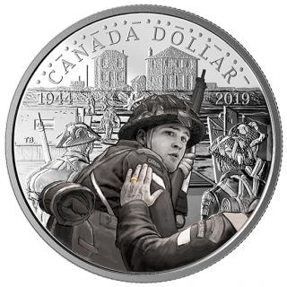 2019 - Proof - Fine Silver - Col. - Canada Dollar