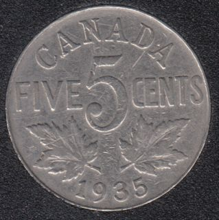1935 - Canada 5 Cents