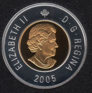 2005 - Proof - Argent - Canada 2 Dollar