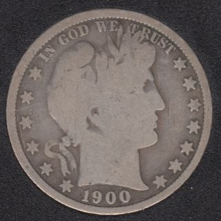 1900 - Barber - 50 Cents