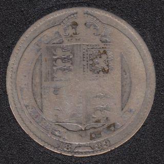 1889 - Shilling - Grande Bretagne