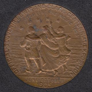 1905 - Official Souvenir Lewis and Clark Centennial Exposition - Portland, Oregon