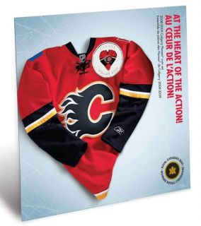 2008 2009 Calgary Flames Coin set - $1 Dollar Coloured