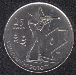 2007 - #3 B.Unc - Biathlon - Canada 25 Cents