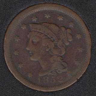 1852 - Liberty Head - Large Cent