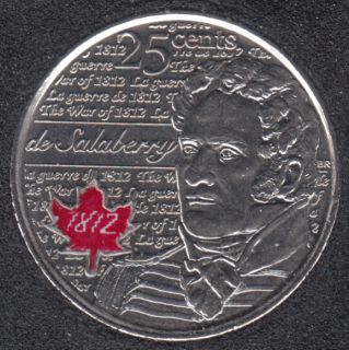 2013 - B.Unc - Salaberry Col. - Canada 25 Cents