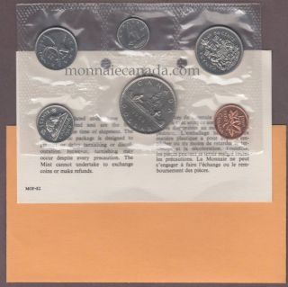 1968 Canada PL SET With Dollar Extra Water Waterlines , Double Die - DHL