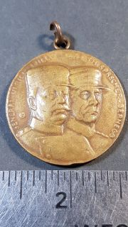 #173 1914 Suisse Mobilisation Medal General Ulrich Wille WWI