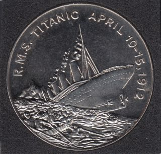 Somaliland - 2002 - 5 Dollars - Titanic