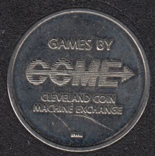 Arcade - CCME - Cleveland - No Cash Value - Gaming Token