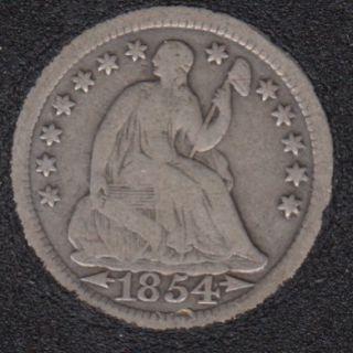 1854 - Half Dime - 5 Cents