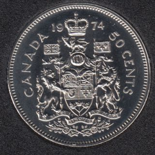 1974 - Proof Like - Canada 50 Cents