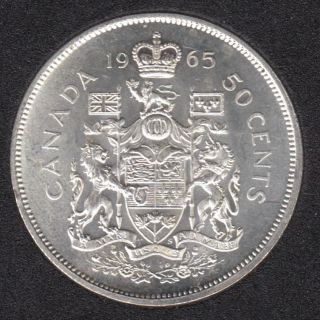 1965 - Canada 50 Cents