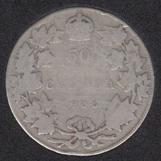 1906 - Canada 50 Cents
