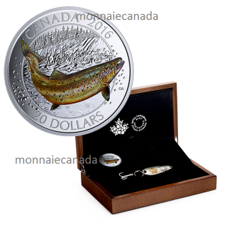 2016 - $20 - Fine Silver 3-Coin – Canadian Salmonids