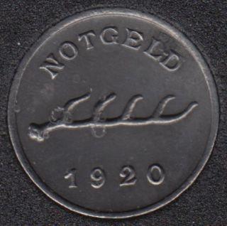 1920 - Notgeld - Bad mergentheim - 1 Pfennig - Allemagne