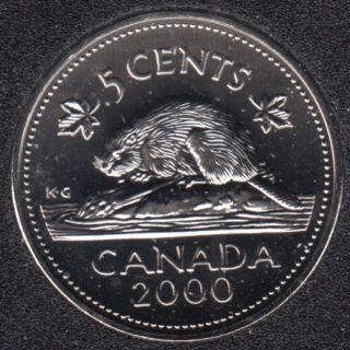 2000 - NBU - Canada 5 Cents