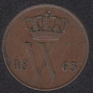 1863 - 1 Cent - Pays-Bas