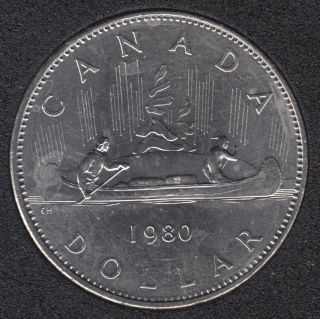 1980 - B.Unc - Nickel - Canada Dollar