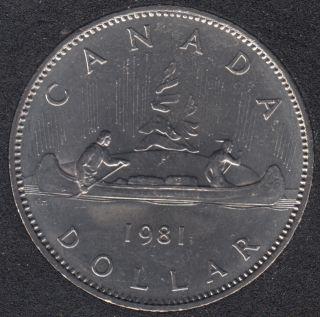1981 - B.Unc - Nickel - Canada Dollar
