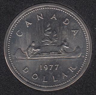 1977 #1 B.unc - ATT, JEW. SWL. - Nickel - Canada Dollar