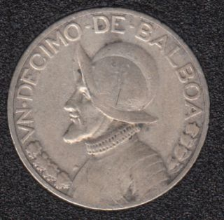 1930 - 1/10 Balboa - Panama