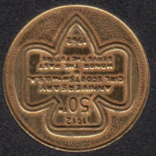 1962 - 1912 - Girl Scouts U.S.A. 50th Anniversary