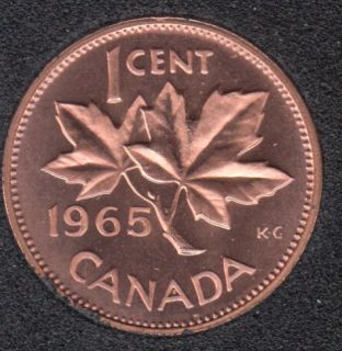 1965 - #2 Proof Like - SBB5 - Canada Cent