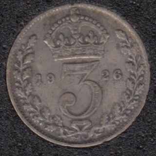 1926 - 3 Pence - Grande Bretagne