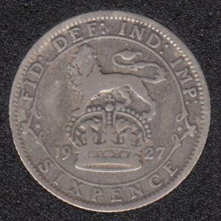 1927 - 6 Pence - Grande Bretagne