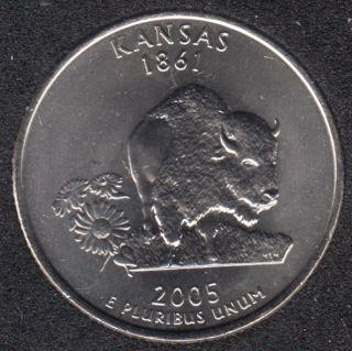 2005 D - Kansas - 25 Cents