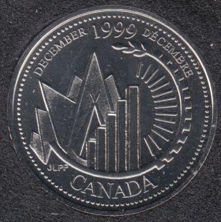 1999 - #912 NBU - Décembre - Canada 25 Cents