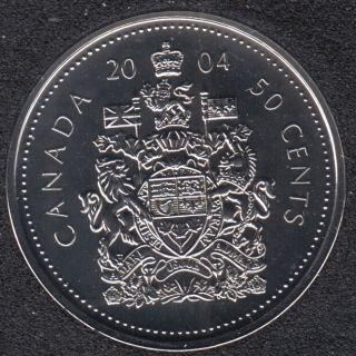 2004 P - NBU - Canada 50 Cents