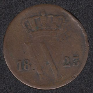 1823 - 1 Cent - Pays-Bas
