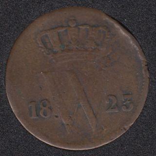 1823 - 1 Cent - Netherlands