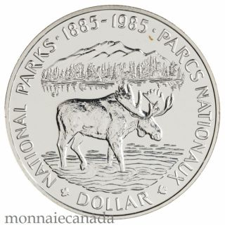 1985 DOLLAR EN ARGENT BRILLIANT INCIRCULE
