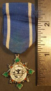 """#85 Quebec: """"MERITE SCOLAIRE""""' Medaille"""