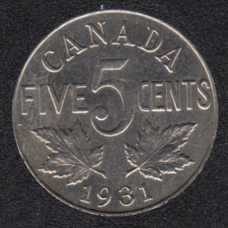 1931 - AU - Canada 5 Cents