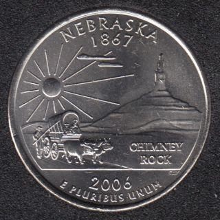 2006 D - B.Unc - Nebraska - 25 Cents