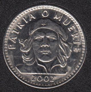 2002 - 3 Pesos - Che Guevara - Cuba