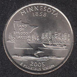 2005 P - Minnesota - 25 Cents