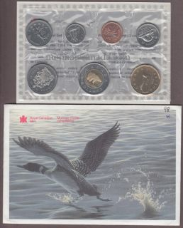1998 - Winnipeg  BRILLIANT UNCIRCULATED SET